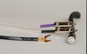 Analysis Plus Low Mass Oval Phono Cable