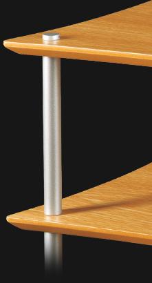 Quadraspire 19mm-Silver-Columns