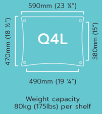 Quadraspire Custom-Made-Q4L-Specifications