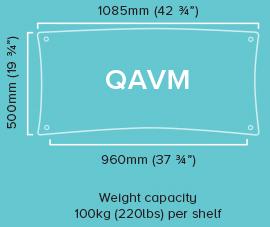 Quadraspire Custom-Made-QAVM-Specifications