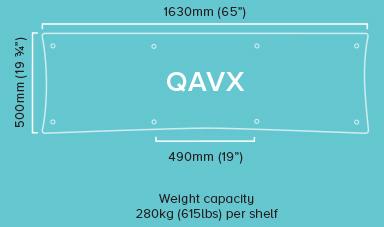 Quadraspire Custom-Made-QAVX-Specifications