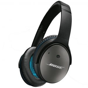 Bose QC25 Noise Cancelling Headphones in Black for Apple IOS iPod - iPhone - iPad
