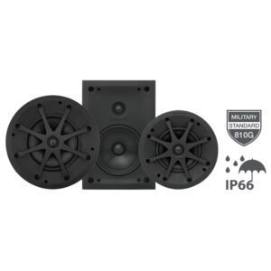 Sonance Visual Performance Extreme range IP66 rated in ceiling and in wall speakers
