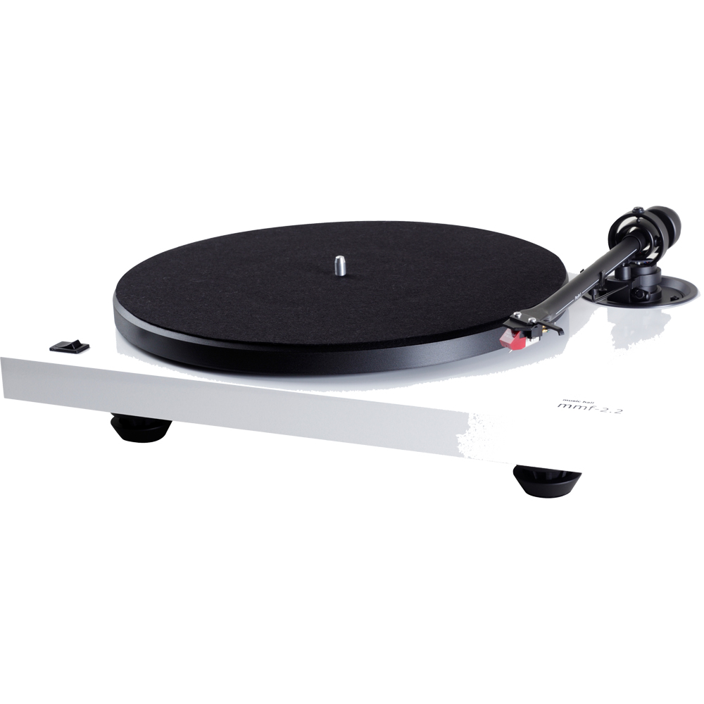 Music Hall MMF-2.2 White Turntable