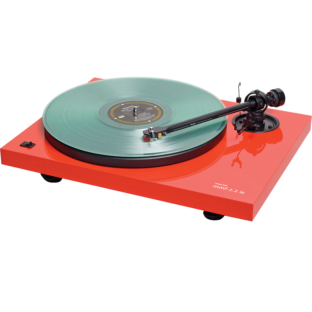 Music Hall mmf-2.2 Red Turntable