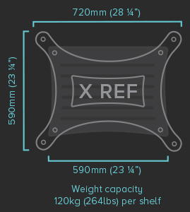 Quadraspire x-reference-specifications