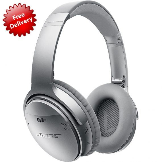 Bose® QC 35 QuietComfort Wireless Headphones Silver - Sydney Hifi ...