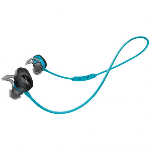 Bose SoundSport wireless headphones Aqua