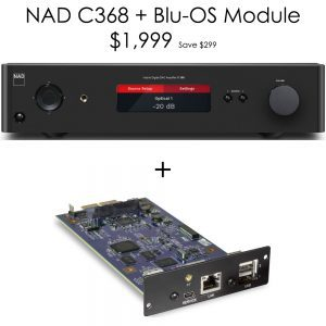 NAD C368 Plus Blu-OS Promotion
