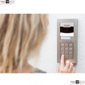 Control4 DS2 Door Station with keypad