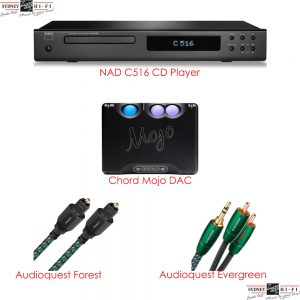 NAD C516 Plus Chord Mojo Package