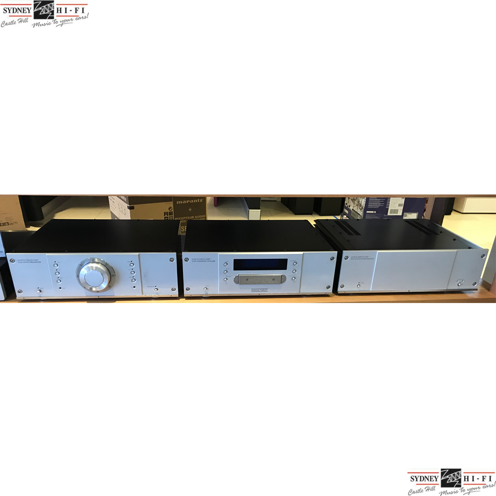 Musical Fidelity A308CR Pre/Power combination