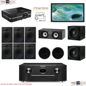 Bowers & Wilkins 664 Cinema Package