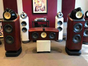 Bowers & Wilkins 802 D2 + HTM2 D2