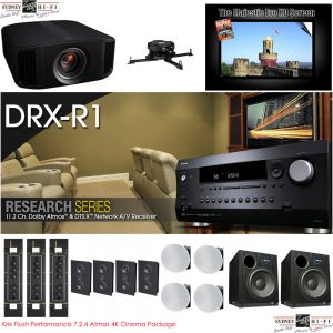 Krix Flush Performance 7.2.4 Atmos 4K Cinema Package