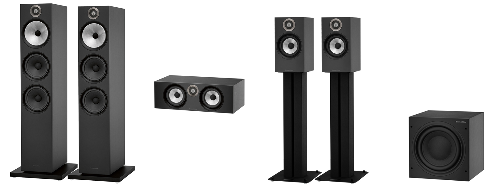 Bowers and Wilkins 5.1 4K Home Theatre Package