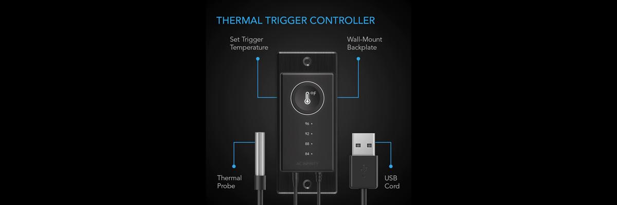AC Infinity Temperature Controller