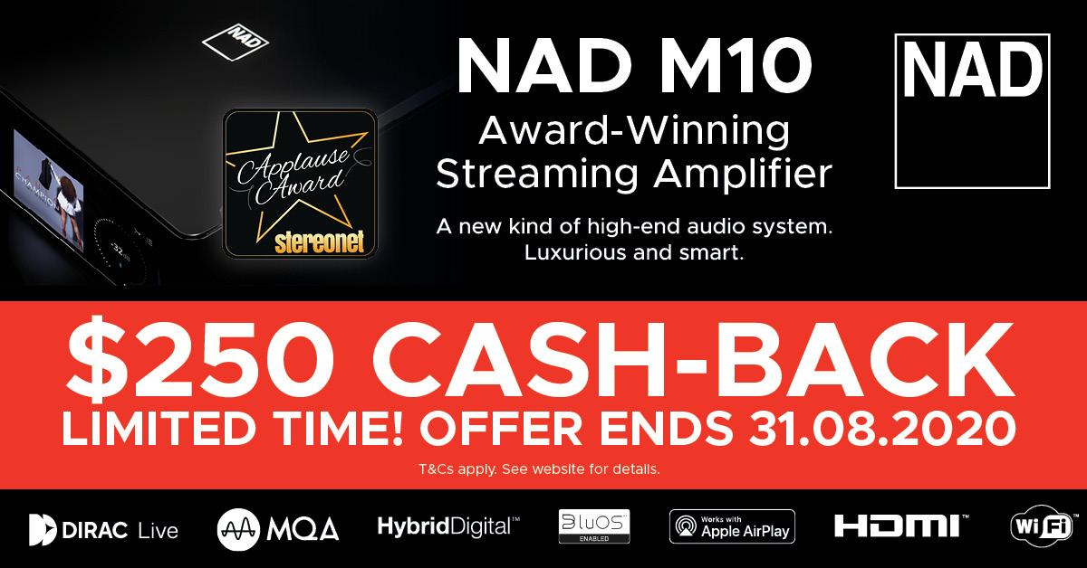 NAD M10 cashback