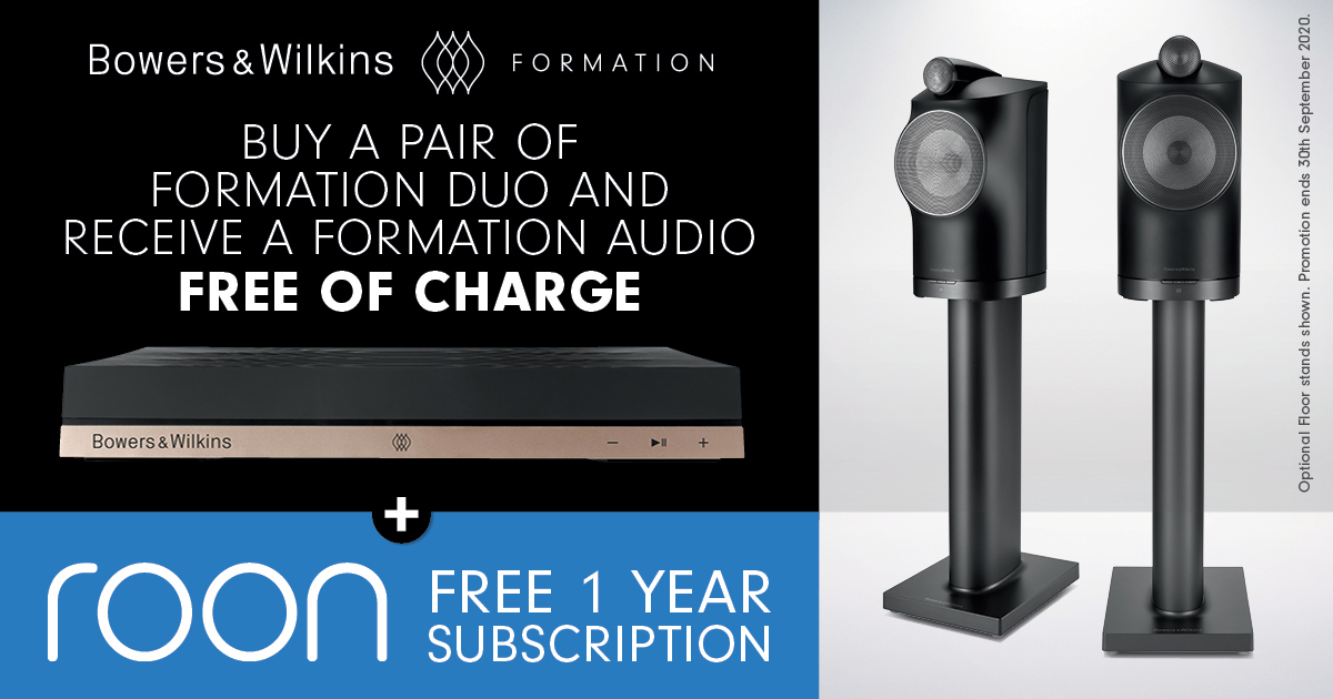Bowers and Wilkins Duo Promotion