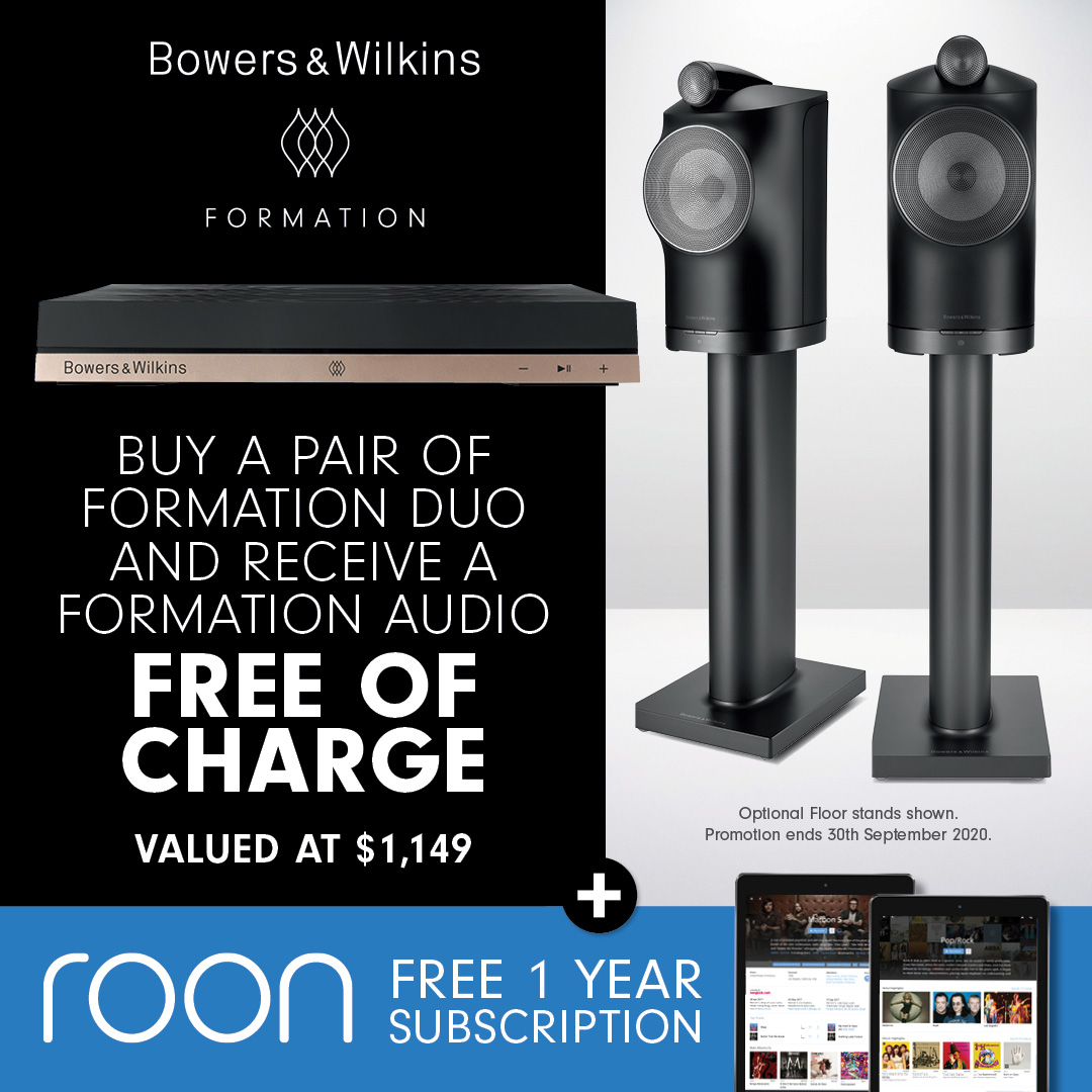 Bowers and Wilkins Formation Duo Promotion