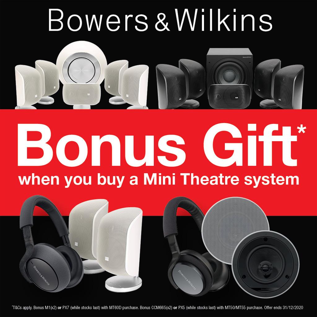 B&W Mini Theatre Promotion