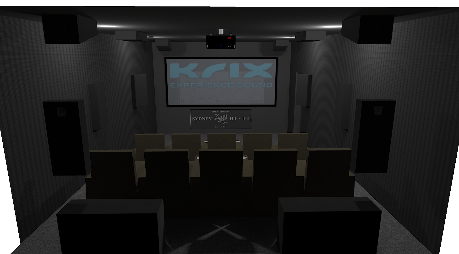 KRIX CINEMA DESIGN Sydney Hi-Fi Castle Hill