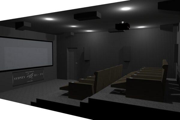 KRIX - Custom Cinema - Cinema Design - Sydney Hi-Fi Castle Hill