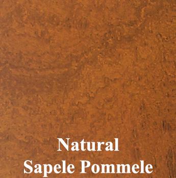 Natural Sapele Pommele