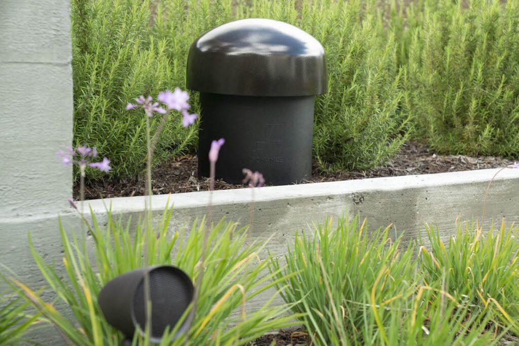 Sonance Garden System speaker and subwoofer